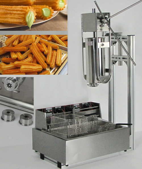 kingma ware co ltd 5l churro machines with 12l churros fryer. Black Bedroom Furniture Sets. Home Design Ideas